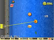Флеш игра онлайн Спанч Боб квадратные штаны. Похититель еды / Spongebob Squarepants - Food Snatcher
