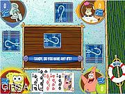 Флеш игра онлайн Губка Боб на рыбалке