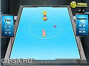 Флеш игра онлайн Губка Боб и хоккей