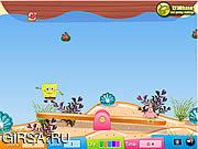 Флеш игра онлайн Spongebob Squarepants - мания Seasaw / Spongebob Squarepants - Seasaw Mania