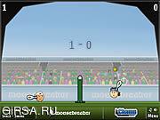 Флеш игра онлайн Теннис головами