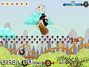 Флеш игра онлайн Белочка Взрыв / Squirrel Blast
