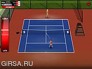 Флеш игра онлайн Придерживайтесь Теннис / Stick Tennis