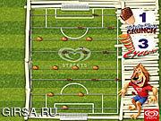 Флеш игра онлайн Футбол таблицы улиц / Streets Table Soccer