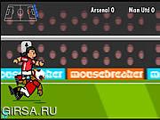 Флеш игра онлайн Футбольный матч / Striker Run