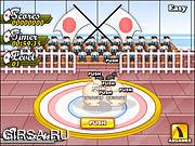 Флеш игра онлайн Турнир Sumo