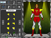 Флеш игра онлайн Super Hero Creator