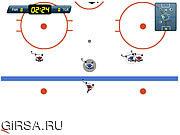 Флеш игра онлайн Супер  Хоккей на льду