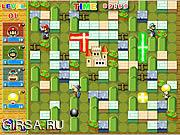 Флеш игра онлайн Super Mario Bomb