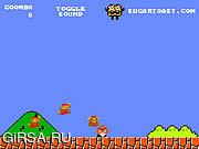 Флеш игра онлайн Super Mario Bros. Goomba Mode