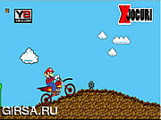 Флеш игра онлайн Super Mario Cross Game