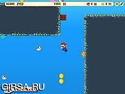 Флеш игра онлайн Super Mario Water