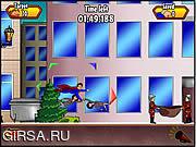 Флеш игра онлайн Superman Man Of Steel