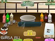 Флеш игра онлайн Sushi Sue