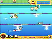 Флеш игра онлайн Swim Challenge