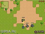 Флеш игра онлайн Tanks Gone Wild