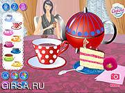 Флеш игра онлайн Утеха времени чая / Tea Time Joy