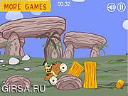 Флеш игра онлайн Флинстоны