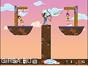 Флеш игра онлайн The Hero Save Beauties