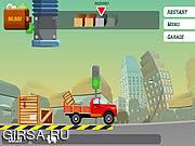 Флеш игра онлайн Доставка груза / The Lorry Story