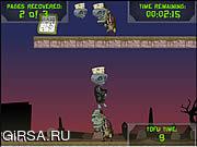 Флеш игра онлайн Веган-Зомби Тофу / The Vegan Zombie Tofu