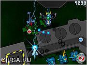 Флеш игра онлайн Галактическое сражение / Thunderax 9K