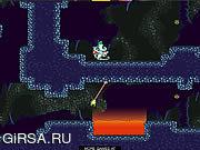 Флеш игра онлайн Ненасытная  жаба / Toad Trouble