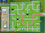 Флеш игра онлайн Том и Джерри в лабиринте преследования сыра / Tom And Jerry In Cheese Chasing Maze