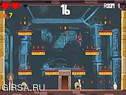 Флеш игра онлайн Кот-расхититель гробниц / Tomb Cat