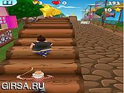 Флеш игра онлайн Ниндзя, полет / Tombik