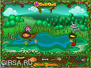 Флеш игра онлайн Toto's Ducklings