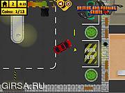 Флеш игра онлайн Town Traffic Parking