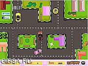 Флеш игра онлайн Игрушечные автомобили паркуются / Toyland Car Parking