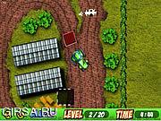 Флеш игра онлайн Tractor Parking