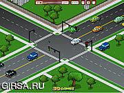 Флеш игра онлайн Traffic Command