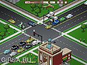 Флеш игра онлайн Traffic Command 2