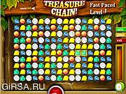 Флеш игра онлайн Treasure Chain