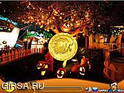 Флеш игра онлайн Treasure Hunt - Halloween Night