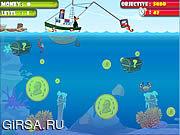 Флеш игра онлайн Сокровища подводного мира / Treasure Hunter In The Sea