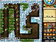 Флеш игра онлайн Treasure Of The Gods