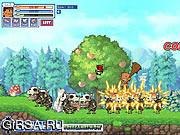 Флеш игра онлайн Tribe Boy Vs Monsters