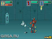 Флеш игра онлайн Tribot Fighter