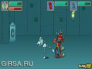 Флеш игра онлайн Истребитель Трибот / Tribot Fighter