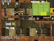Флеш игра онлайн Грузовик Погрузчик 2
