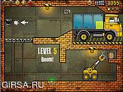 Флеш игра онлайн Погрузчик - 4 / Truck Loader 4