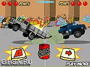 Флеш игра онлайн Trucks of War