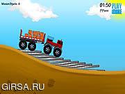 Флеш игра онлайн Грузовичок / Truckster