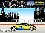 Флеш игра онлайн Tune and Race: Comvertible Supercar
