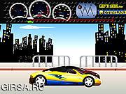 Флеш игра онлайн Крутая гонка / Tune and Race: Comvertible Supercar