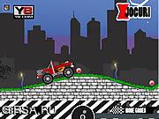 Флеш игра онлайн Турбо Джип / Turbo Monster Truck